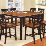 the gray barn epona two tone counter height table