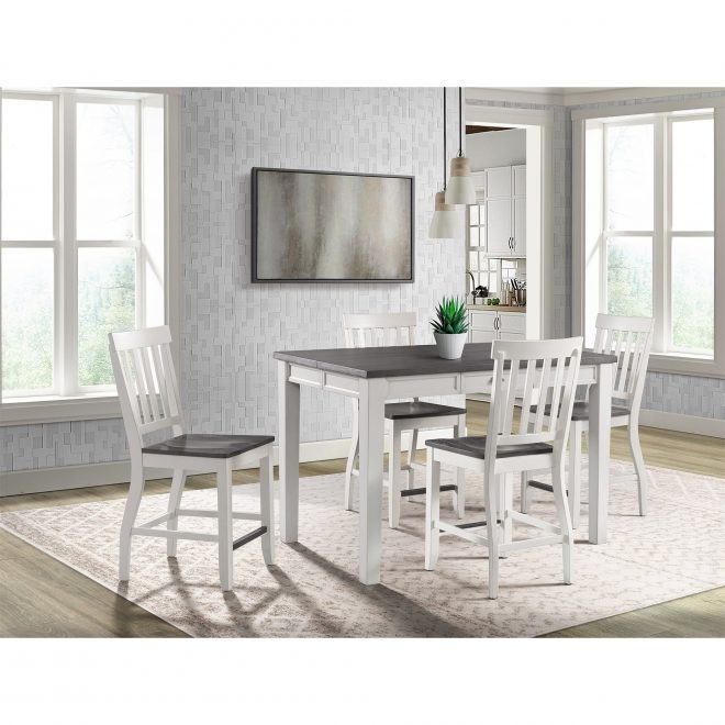 the gray barn stony creek two tone counter height dining set