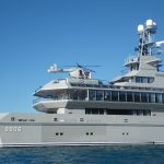 the hottest helicopter decks on private yachts yacht