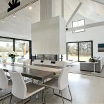 the modern barn conversion at water mill modern home in