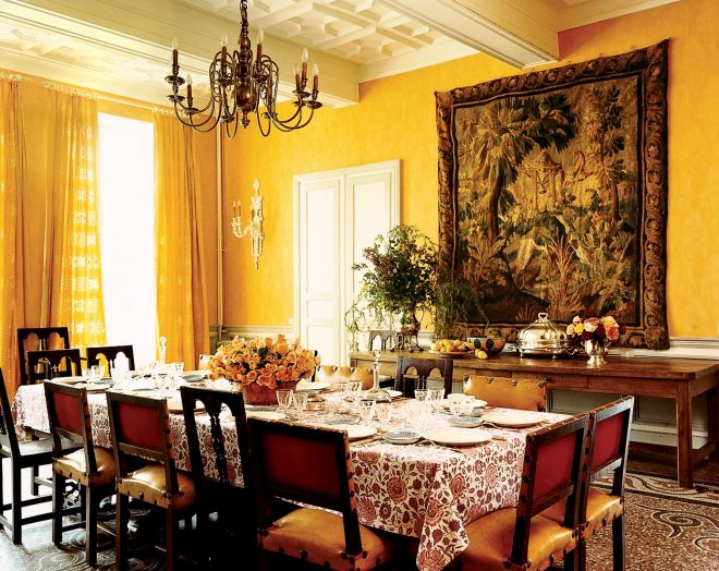 the most beautiful dining rooms in vogue vogue