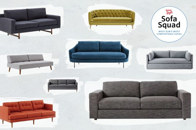 the most comfortable sofas at west elm tested reviewed