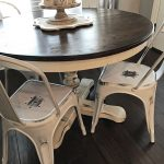 the perfect farmhouse dining room decor with metal white