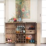 the sutter wine bar also available in black finish arhaus
