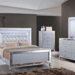 the valentino 4 piece king bedroom set is every modern