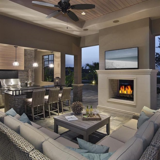 this is what i call luxury outdoor living outdoor kitchen