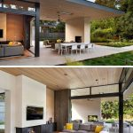 this modern house has been designed to enable indooroutdoor