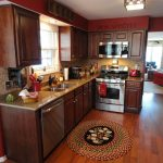 thomasville kitchen cabinets decoration colors with red color theme