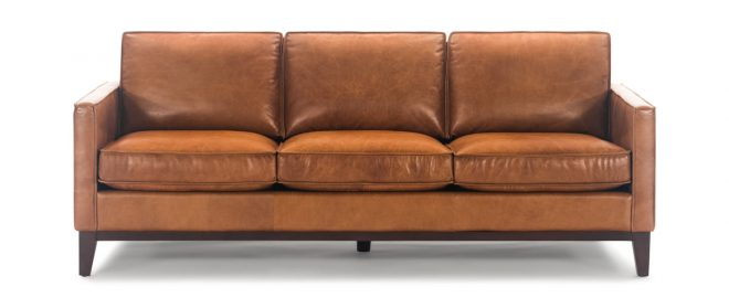 thorpe leather sofa