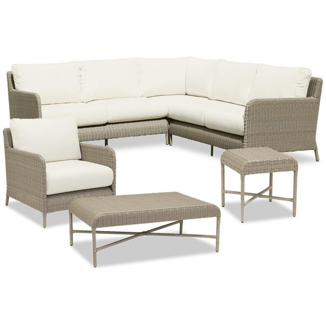 thos baker 6 piece sectional set from the melrose collection
