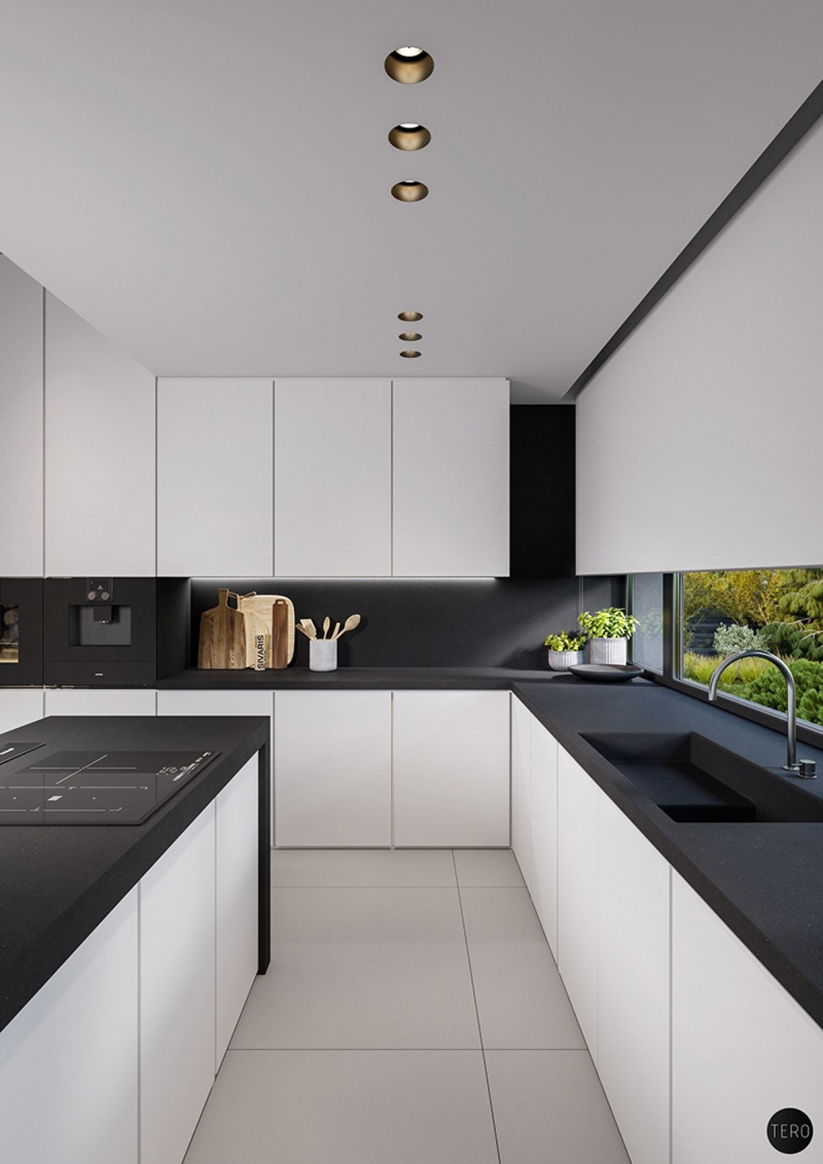 three black and white interiors that ooze class pines 2 lucio