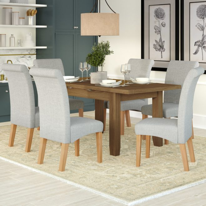 three posts berwick extendable dining table and 6 chairs reviews