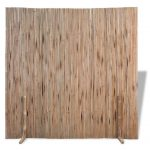 tidyard 709x709 freestanding room divider fence panel indoor outdoor flexible formed bamboo dividerscreen folding privacy screen room
