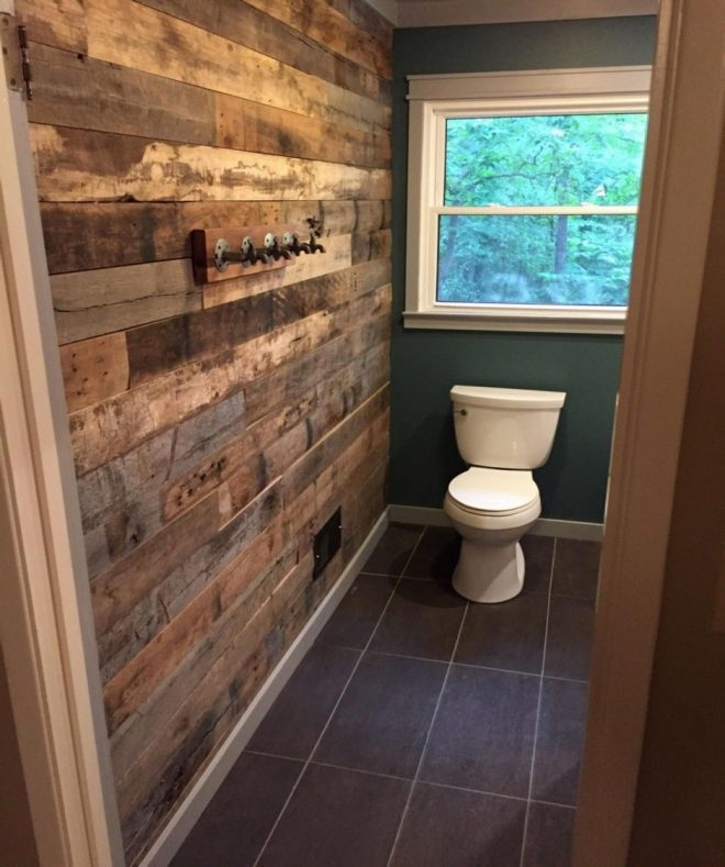 tile accent wall 27 tutes tips pallet wood wall bathroom