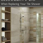 tile shower base wall panel replacement ideas innovate building