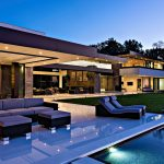 timeless contemporary luxury homes with glamorous interior elements