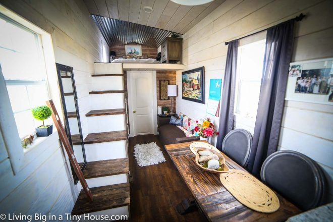 tiny house living room living big in a tiny house