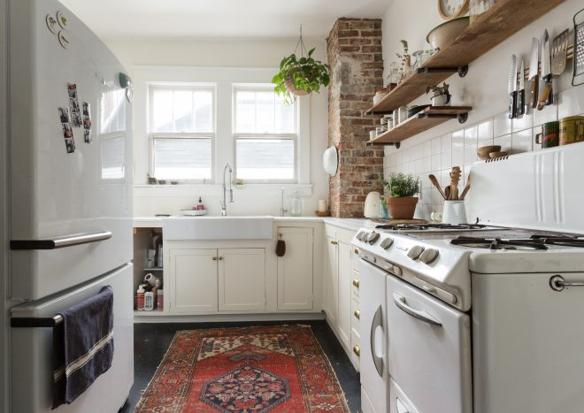 tips for choosing a kitchen rug kitchn