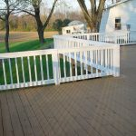 tips for decorating the deck and deck paint color ideas