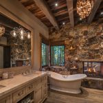 tips for designing and planning a rustic bathroom