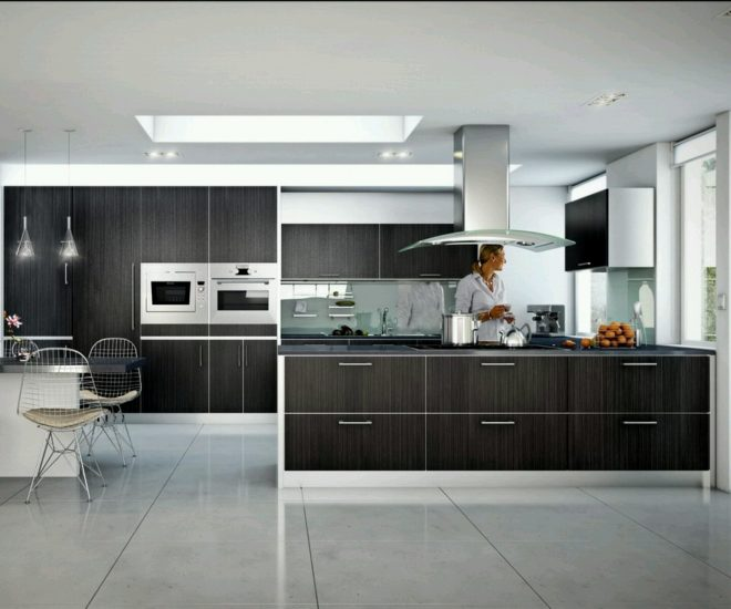 tips of designing nice and simple modern kitchens cabinets