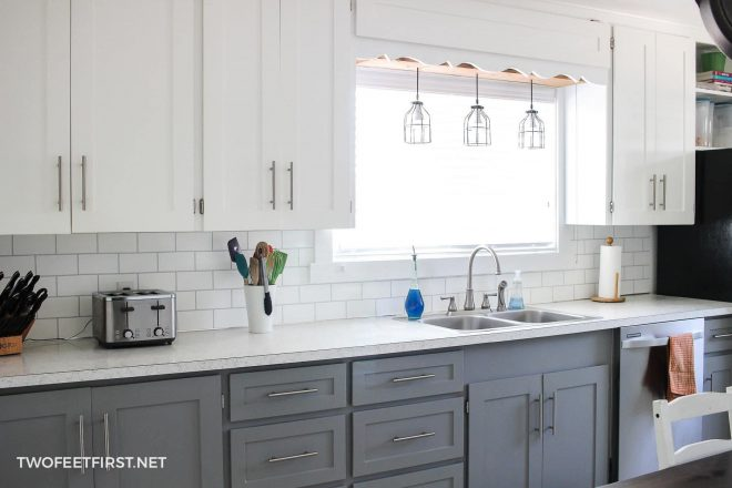 tips on painting kitchen cabinets with a paint sprayer