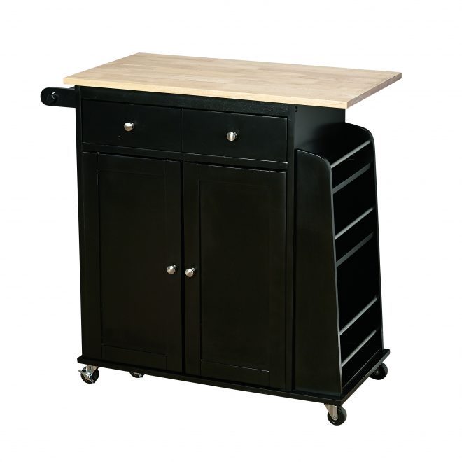 tms sonoma kitchen cart black walmart