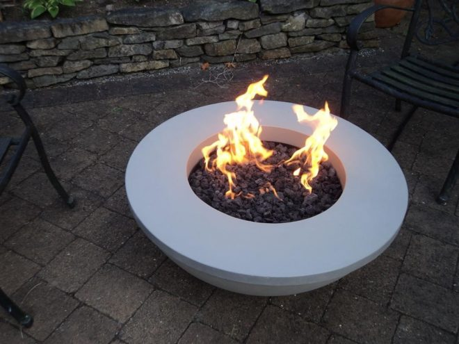todays modern outdoor fire pits fire tables the fireplace place