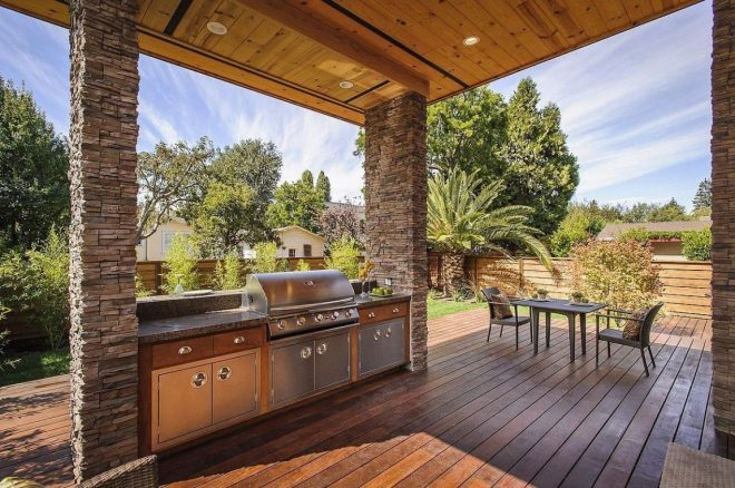 top 15 outdoor kitchen designs and their costs modern