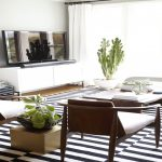 top 33 wonderful black and white striped area rug for living