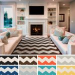 top 41 first rate chevron collection area rug sizes for