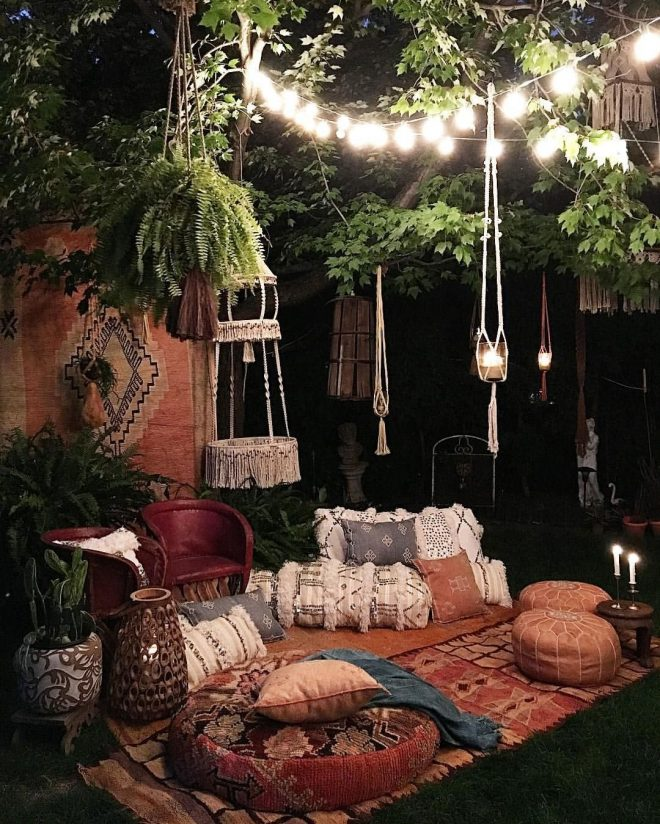 top 6 best tips to turn your living room into a bohemian