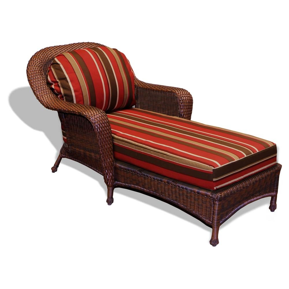 tortuga outdoor sea pines wicker chaise lounge