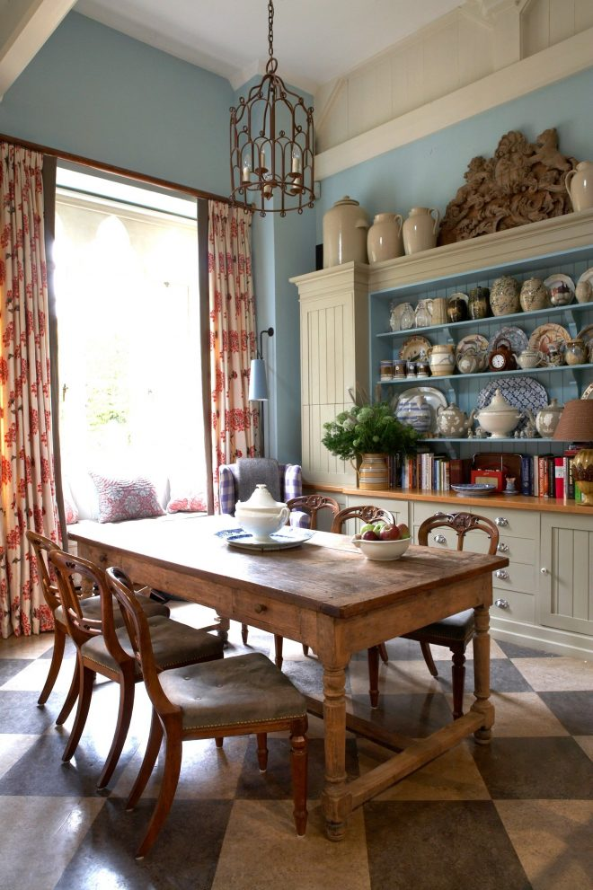 tour the dreamy english country cottage of designer william