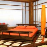 traditional japanese bedroom furniture interior asian inspired