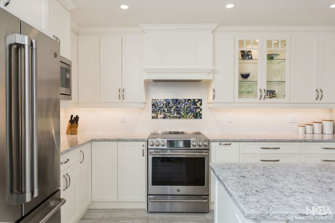 traditional white kitchen nkba