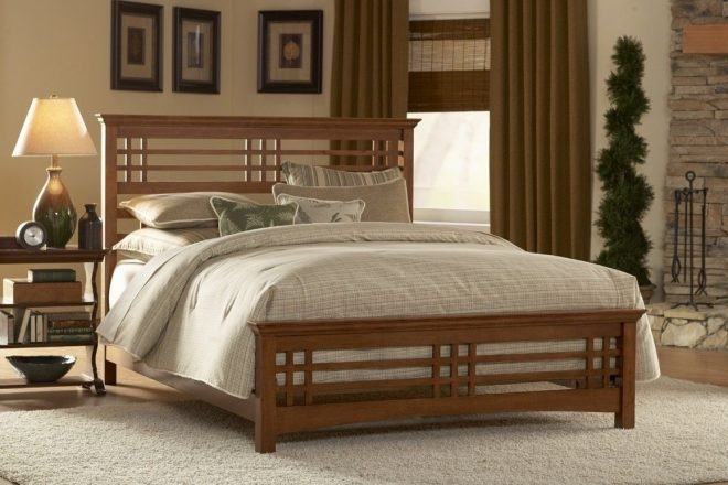 traditional wooden bed design ideas with awesome wood