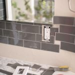 transform your bathroom with peel and stick backsplash tiles
