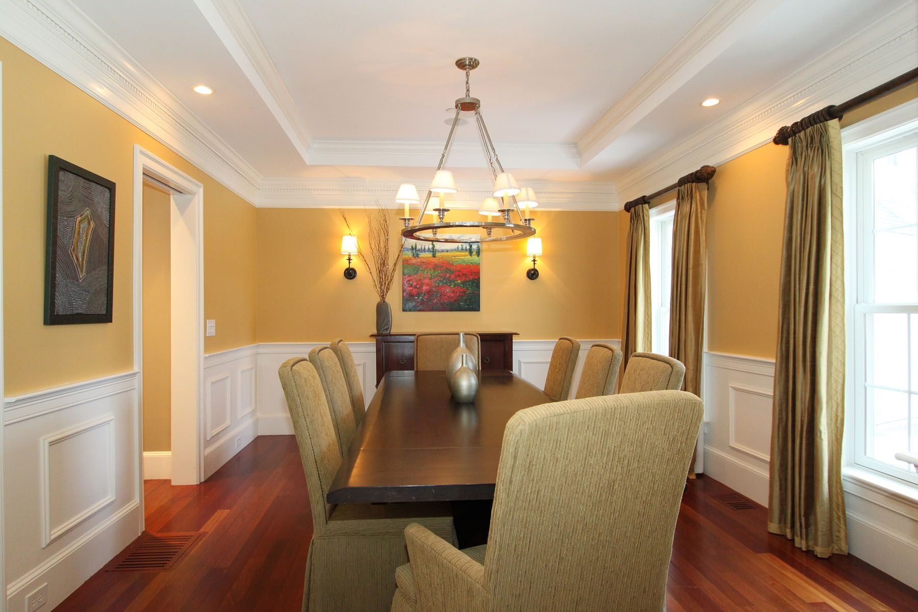 tray ceiling in dining room doorways and ceilings pinterest