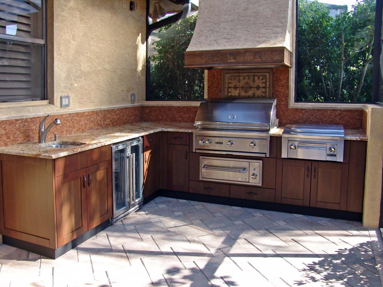 trend of prefabricated outdoor kitchen cabinets kitchen ideas