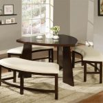 triangular dining table with bench seating dining tables with