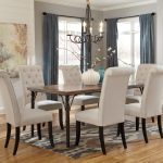 tripton 7 piece rectangular dining room table set