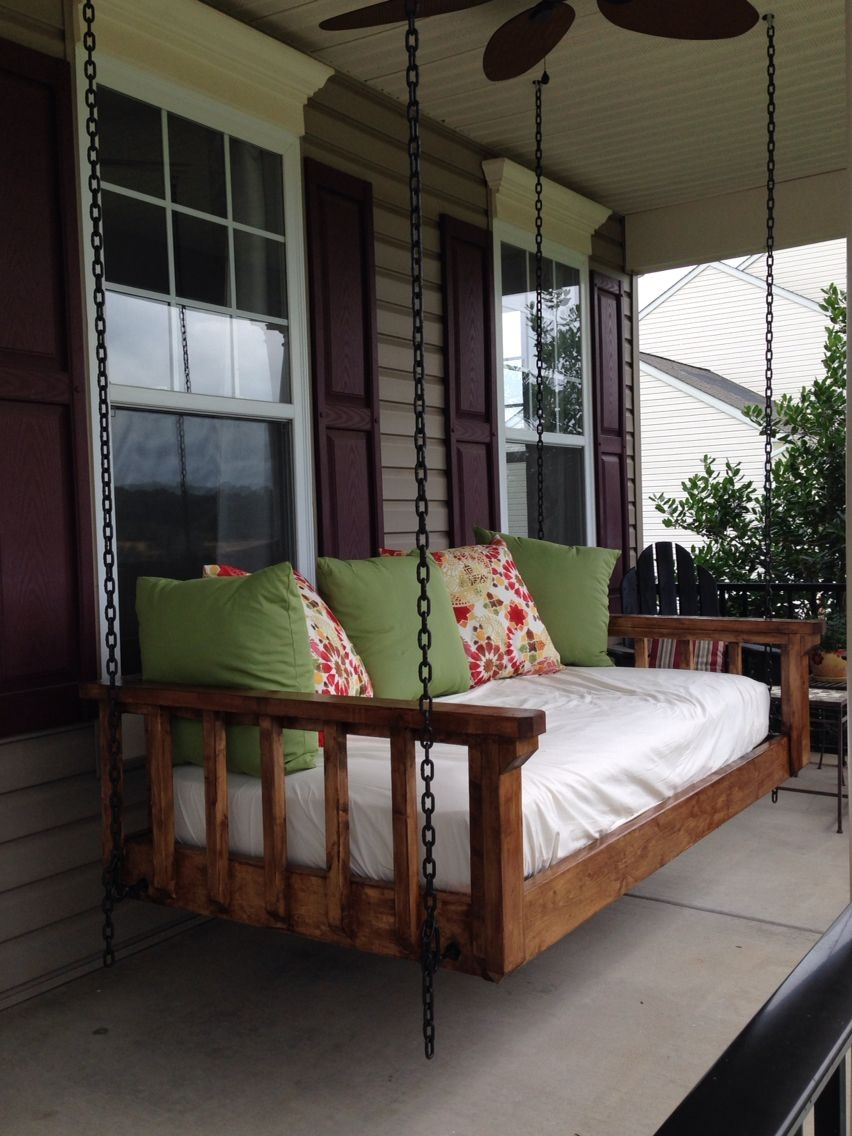 Outdoor Porch Bed Swing Opnodes