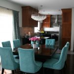 turquoise dining room chairs ideas and brown living layout