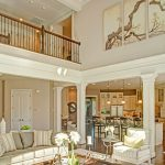 two story family room family rooms casas canadienses