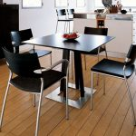 unbelievable design small black dining table style feather