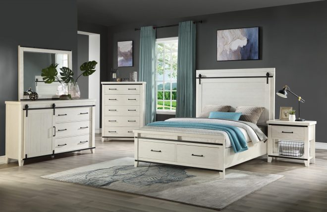 urban barn storage bedroom suite