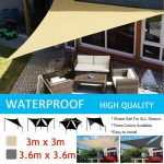 us 1825 25 offsun shelter sunshade protection outdoor canopy garden patio pool shade sail awning camping picnic tent in sun shelter from sports