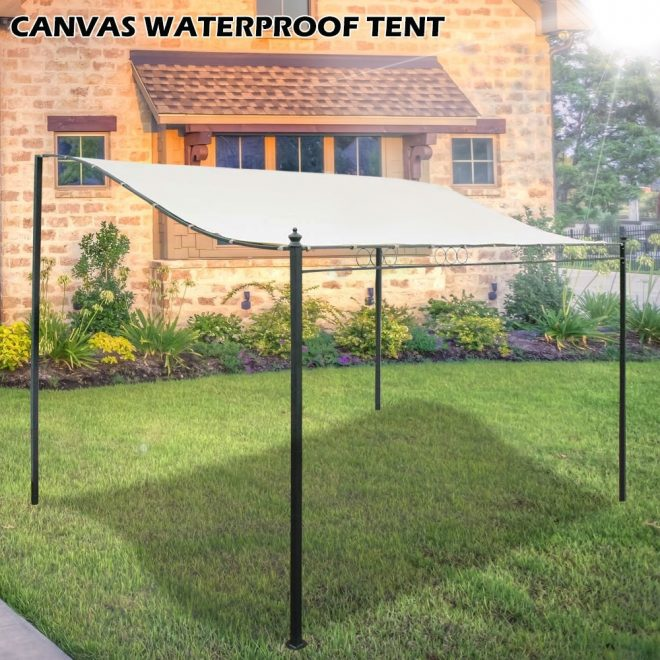 us 1958 waterproof awning garden outdoor patio sun shelter oxford cloth tent canopy top roof supplies 3x3m 3x26m 25x26m in awnings from home