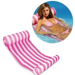 us 1979 45 offsummer outdoor inflatable floating sleeping bed chair float water hammock lounger beach swimming pool accessories air mattress in